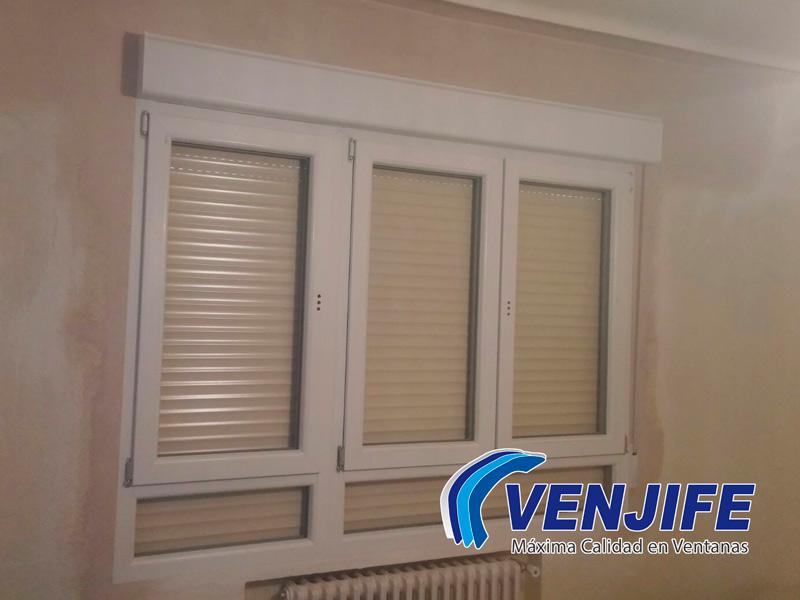 Ejemplo de instalación ventanas PVC